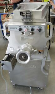 Used Hobart Meat Mixer Grinder Model Mg2032 8 5hp