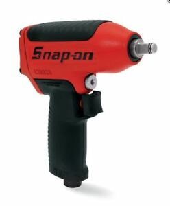 Snap On Super Duty Magnesium Housing Red Standard Anvil 3 8 Drive Impact