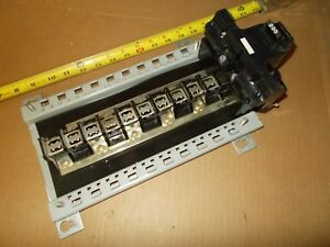 Fpe 200 Amp Main Breaker Federal Pacific W load Center As Shown Used
