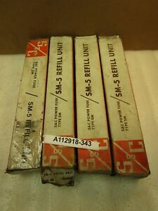Lot Of 4 S c Power Fuse 132600r4 14 4 Kv 400e 153 4 Sm 5 Refill New In Boxes