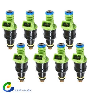 8 42lb 440cc Ev1 Fuel Injectors Fit For Gm Lt1 Ls1 Ls6 Ford Mustang Sohc Dohc