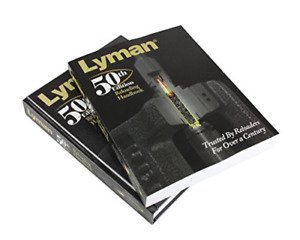 Lyman 50th Ed Reloading Book Softcover Cartridges Powders New Full Color Edition