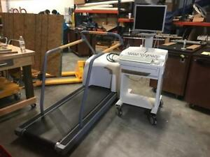 Ge Case V6 51 Stress Testing System With T2100 Treadmill
