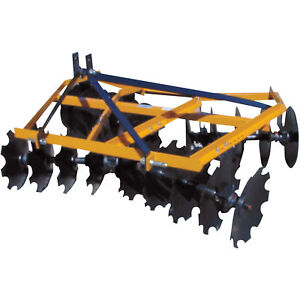 King Kutter Angle Frame Disc Harrow 6 1 2 ft Notched 16 20 g n yk