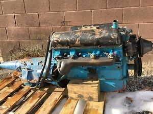 Ford 1958 352 Big Block Fe V8 Engine And Mx Cruise O Matic Transmission