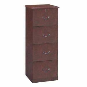 Copper Grove Mctaggart 4 drawer Cherry Vertical File
