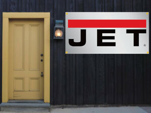 Jet Tools Vinyl Banner 2 x4 13 Oz Garage Or Trade Shows Ready Hang Equipment