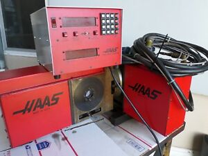Haas Trt160 5th Axis Rotary Table 17 Pin Brush Motor Connection Trt 160 Warranty