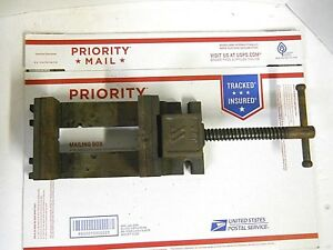 Wilton Stationary Machine Vise Base 141025 Work Bench Low Profile 4 1 2 Jaw
