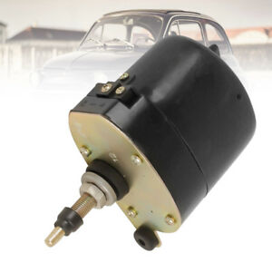 Universal Black Windshield Wiper 12v Motor For Chevy Ford Mopar Jeep 01287358