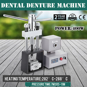 Dental Flexible Denture Machine 400w Injection 110v Ce Lab Equipment Hot Press