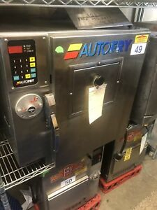 Autofry Ffg10 Ventless Hoodless Countertop Deep Fryer Electric Used