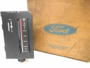 Nos New Ford Aerostar Temperature Climate Control 1986 1988