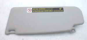 New Old Stock Volkswagen Beetle Right Sun Visor Pearl Grey 3b0 857 552t 2f4