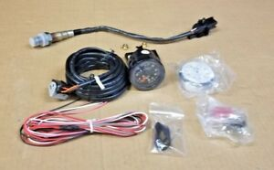 Sale Aem Analog Face Wideband O2 Uego Gauge Sensor Kit Air Fuel Ratio Afr Meter
