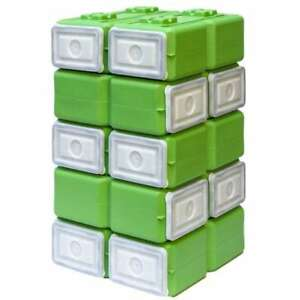 Waterbrick Foodbrick Stackable Bpa Free Food Storage Container pack Of 10