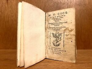 1571 Cicero S Collection Of Letters To Brutus Atticus And His Brother Quintus