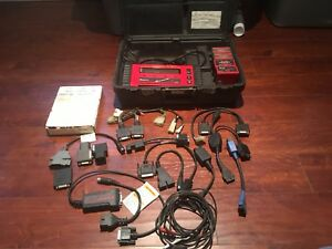 Snap on Mt2500 Diagonostic Scanner Working With Case
