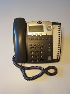 At t Model 974 Small Business Expandable 4 Line Speaker Phone With Caller Id