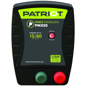 Patriot Pmx50 Fence Energizer 0 50 Joule For Electric Fence