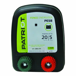 Patriot Pe5b Battery Energizer 0 20 Joule For Electric Fence