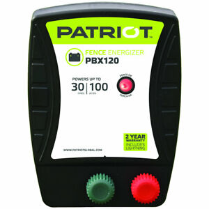 Patriot Pbx120 Battery Energizer 1 2 Joule For Electric Fence