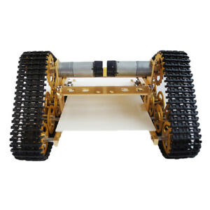 T400 All Metal Wall e Crawler Robot Tank Chassis 9v Motor with Code Wheel