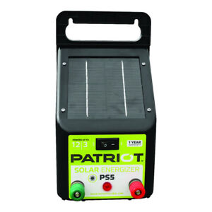 Patriot Ps5 Solar Energizer 0 04 Joule For Electric Fence