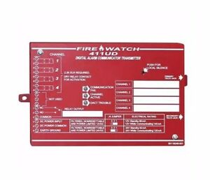 Fire Lite 411ud Four Channel Commercial Fire Alarm Communicator