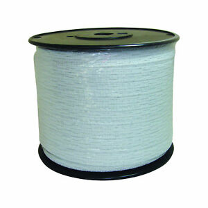Field Guardian 1 2 White Polytape 1312 Electric Fence 634150 814421012999
