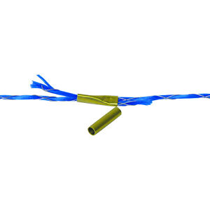 Field Guardian Polyrope Crimps For Electric Fence 666102 814421011138