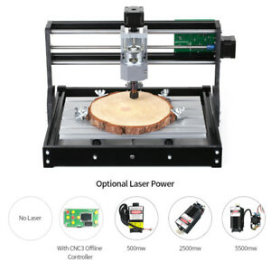 Cnc3018 Diy Cnc Router Kit Laser Engraving Machine Grbl Control 3axis 500mw J0t0