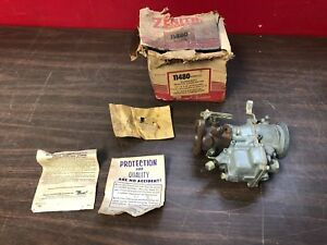 Vintage Zenith 11480 22av12 Down Draft Carburetor Nos 1218