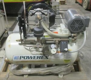 Powerex 2 Hp 30 Gallon Slae03e Oilless Scroll Air Compressor Ocs026141 Used