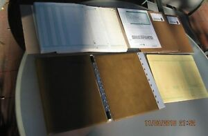 Vintage 1980 s Era Safeguard Business Systems Lot Accounting Forms