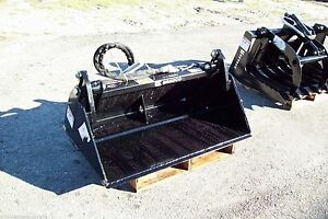 Bradco 4in1 Bucket 42 For Mini Loaders toro ditch Witch vermeer do More Work