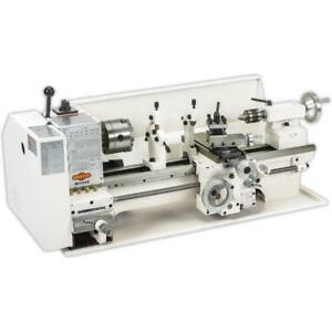 Shop Foxm1049 9 X 19 Bench top Metal Lathe 3 4hp new In Box