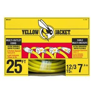 Yellow Jacket Multi Outlet Extension Cord