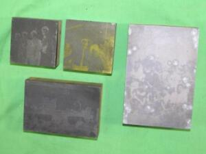 4 Wood And Metal Printers Blocks photographic Images