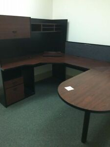 Great Executive Office Desk W Hutch 1 local Pickup
