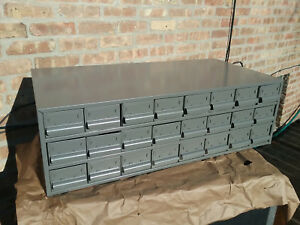 24 Drawers Unit Nos Metal Industrial Parts Cabinet W 48 Dividers