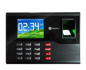 2 8 Tft Realand A c120 Fingerprint Time Attendance Machine Built in Timing Bell