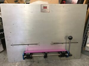 Ternes Register System Plate Punch 31 Used For Sakurai