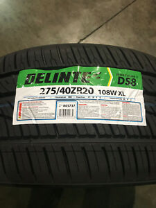4 New 275 40 20 Delinte Desert Storm Ii Ds8 Tires
