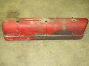 Cast Valve Cover International Farmall 806 856 Gas