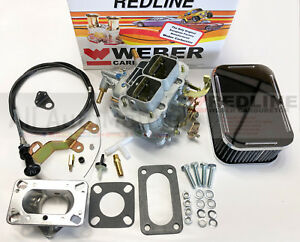 Weber 32 36 Dgev Manual Choke Carburetor Kit Fits Jeep Cj S Weber New