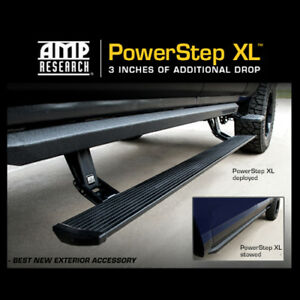 Amp Power Step Xl Folding Side Running Boards 13 15 Ram 1500 2500 3500 Crew Cab