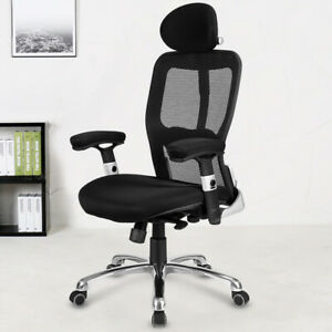 Ergonomic Modern Mesh High Back Office Chair Desk Chair With Headrest New