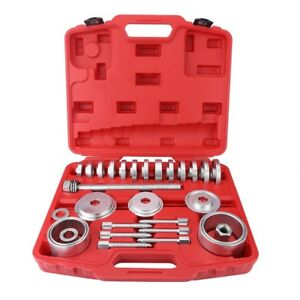 31pcs Universal Wheel Drive Bearing Removal Installation Tool Kit Us Stock