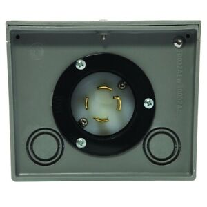 Generac Power Systems 6337 Generator Power Inlet Box Resin 30a